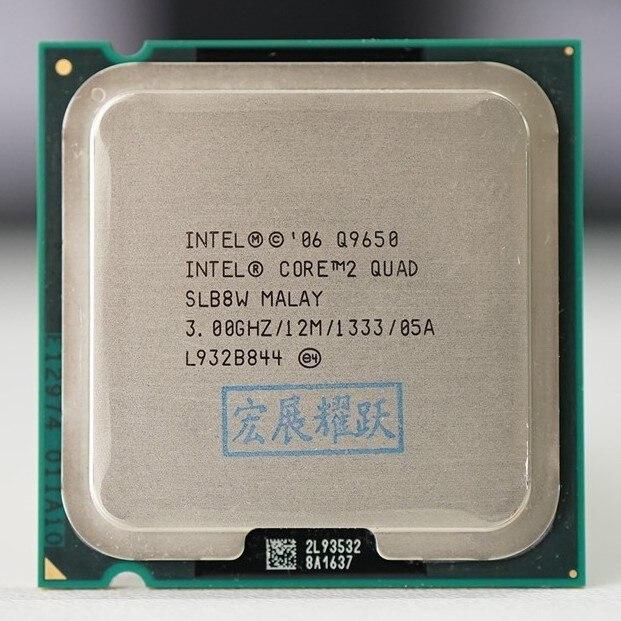 Intel Core2 Quad Prozessor Q9650 (12M Cache, 3,00 GHz, 1333 MHz FSB) SLB8V EO LGA775 Desktop CPU