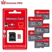 Micro SD Memory Card 256GB 128GB 64GB 32GB 16GB microsd TF/SD card SDXC SDHC Class 10 Flash Drive Fo