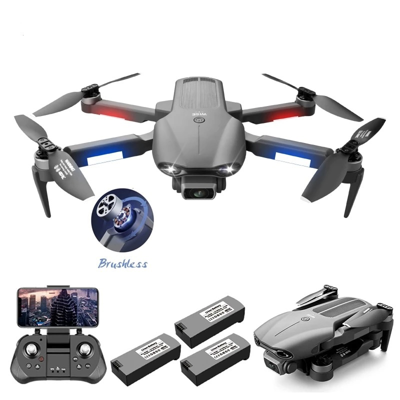 2021 New F9 Drone 6K HD Dual Camera aerial Photography GPS Brushless Motor Foldable RC Quadcopter toys for boys rc helicopter enlarge