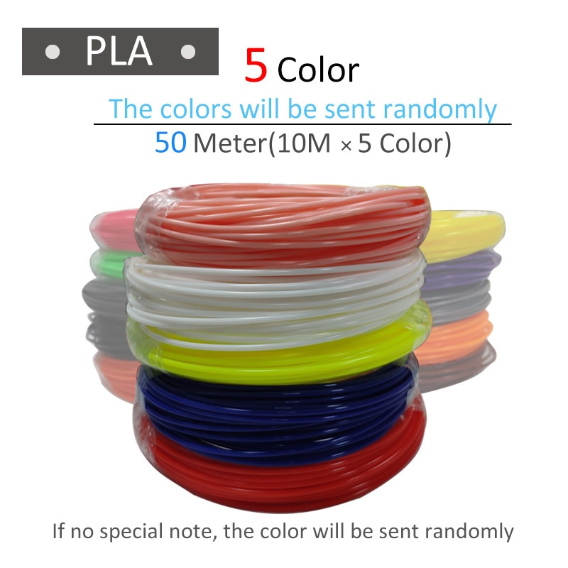 1.75mm PLA 3d pen filament 50 to 800 meters choice Scented Environmental safe 3D handle plastic the best KIDS Birthday gift