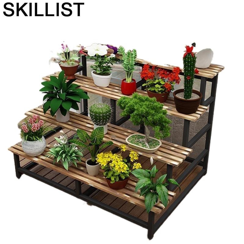 Indoor For Repisa Estante Para Plantas Pot Plantenrekken Ladder Living Room Balcony Dekoration Outdoor Flower Stand Plant Shelf