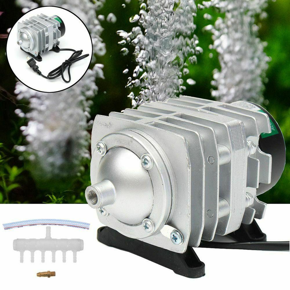 220V electromagnetic air pump air compressor portable fish tank oxygenated bubble aquarium pond