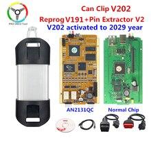 Qualité pleine puce pour Renault peut clipser V202 Reprog V191 AN2135SC/AN2131QC or PCB peut clipser V202 outil de Diagnostic automatique