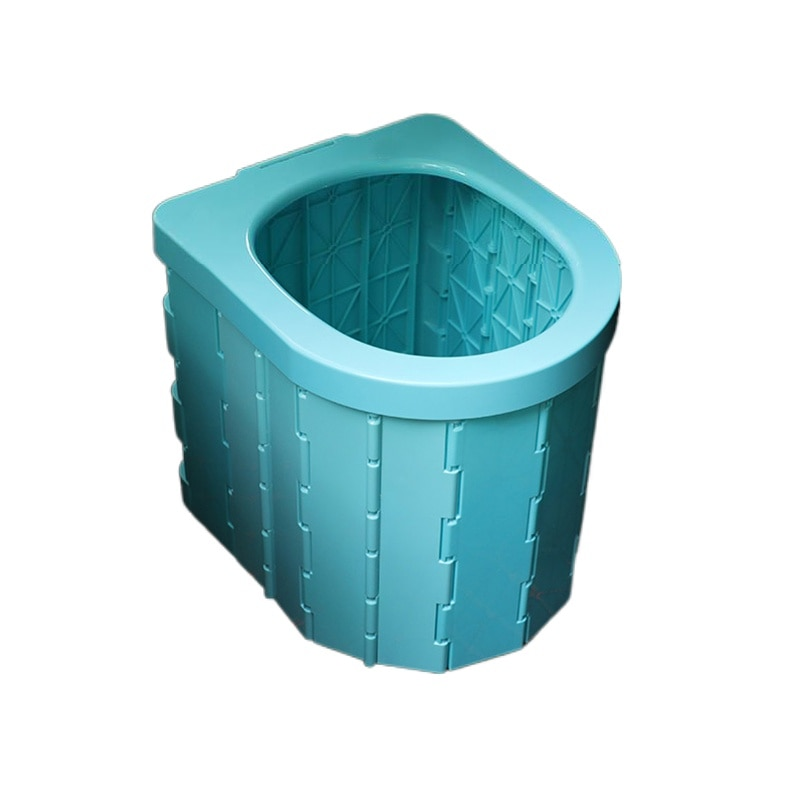 Portable Folding Toilet Seat Travel Commode Toilet Outdoor Travel Camping Car Folding Potty Toilet Supplies Night Stool