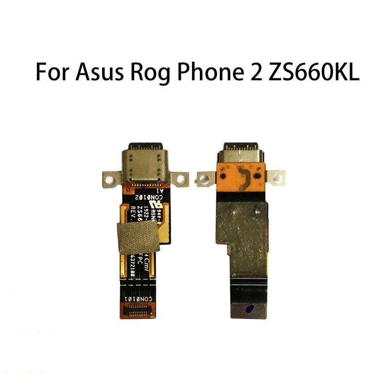 Nuevo puerto conector de carga USB para teléfono de Asus Rog 2 cargador ZS660KL USB Jack вватититититититтаттиттититититтититититити