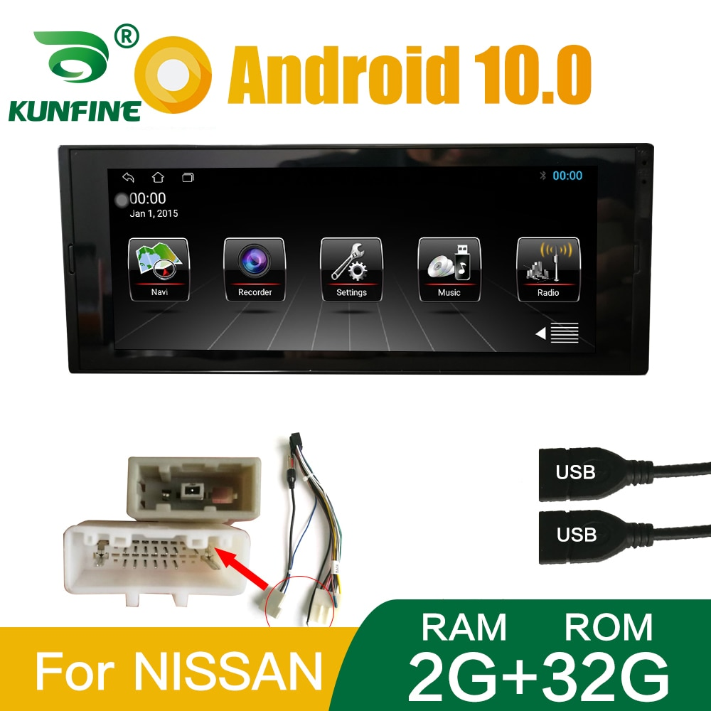 1DIN Universal Quad Core Android 10.0 Car Stereo Car DVD GPS Navigation Player Deckless Car Radio Device Headunit with wifi BT