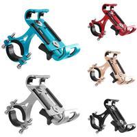1pcs Practical Aluminium Alloy Bike Phone Holder Bicycle Phone Support Motorcycle Handlebar Mount Bike accessories