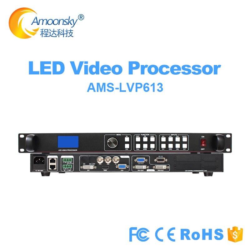 معالج فيديو LED lvp613 ، قشارة HD TV SDI ، HDMI ، متوافق مع VGA DVI ، USB ، WIFI ، أجزاء تحكم لشاشة led ، شحن مجاني