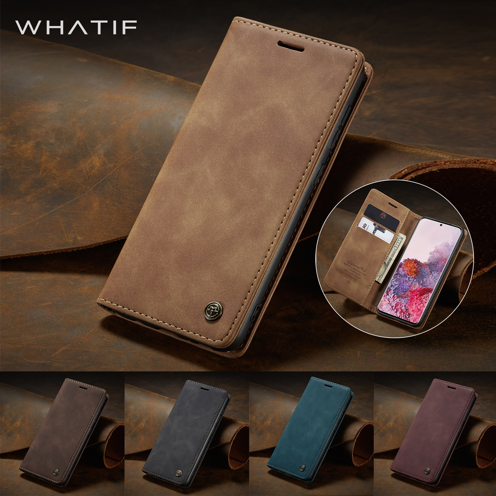 Magnetic Leather Phone Case for Xiaomi Redmi Note 8 9 Pro Max Retro Book Card Wallet Cover For Xiaom
