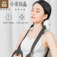 new youpin jeeback electric neck massager kneading heating back neck shoulder body massage u shape kneading massager health care