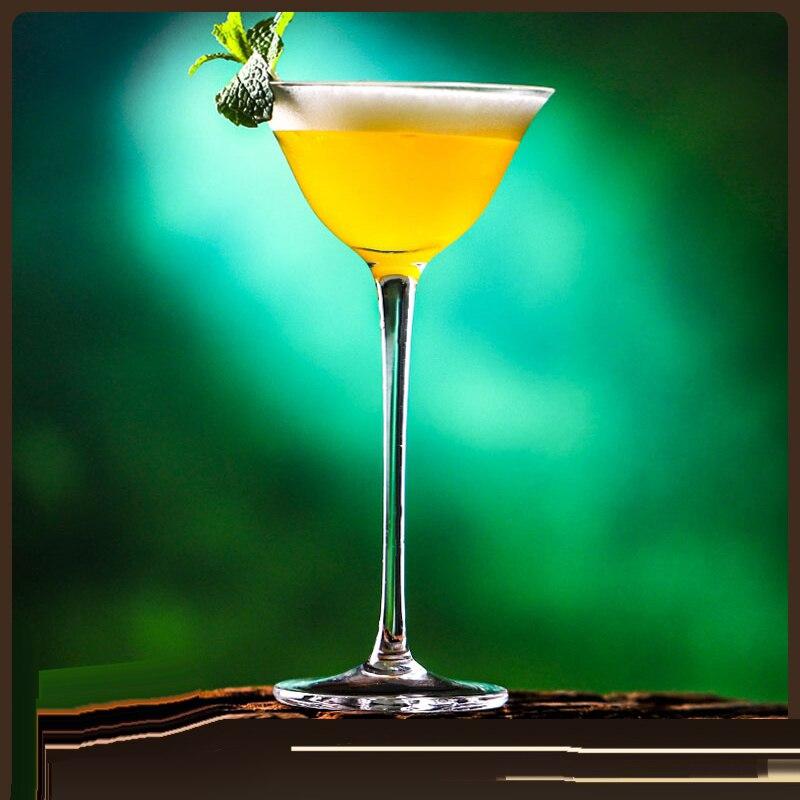 Envío gratis 4 Uds 130ml copa de cocktail gafas de Martini de vidrio Juego de 4