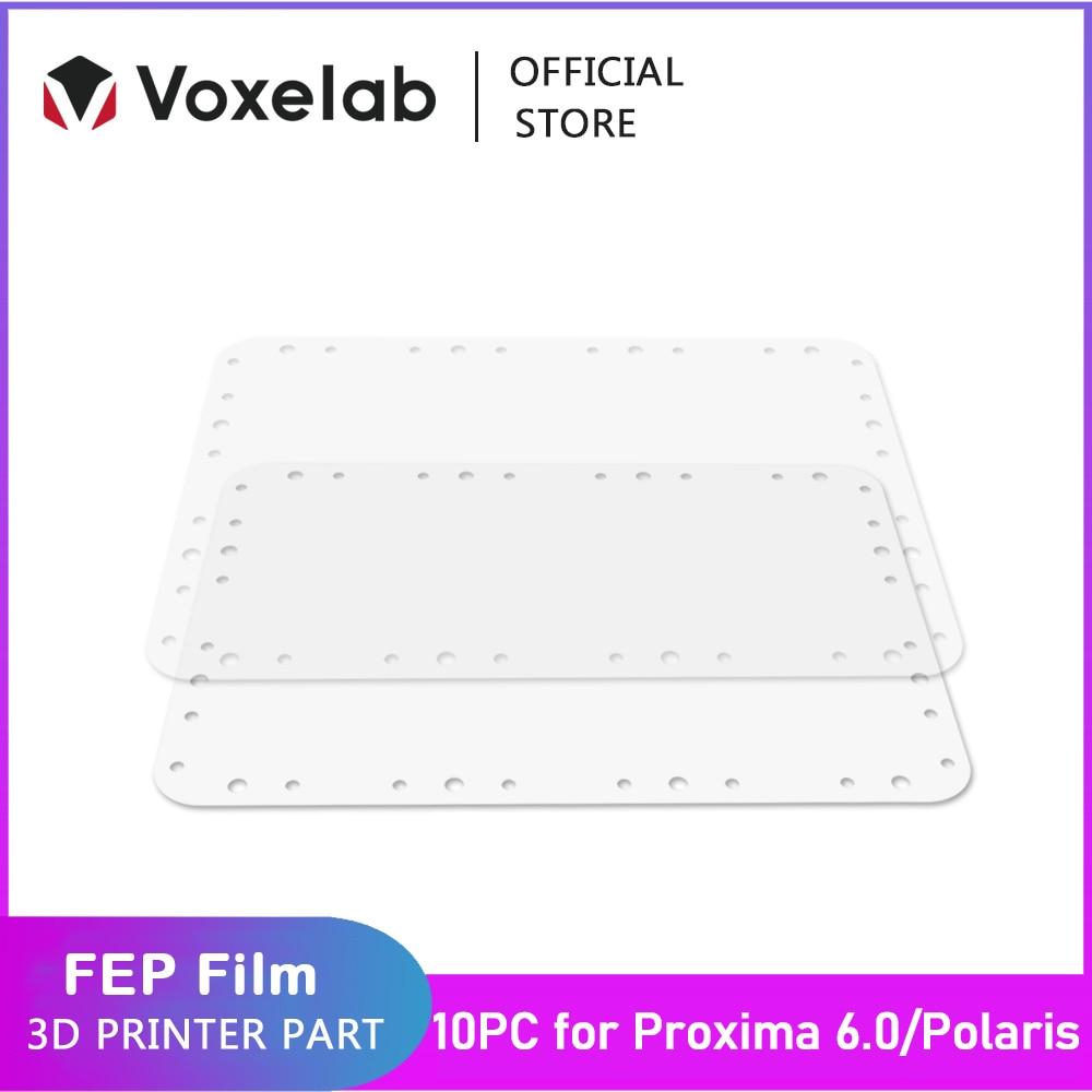 Voxelab 5 قطعة 10 قطعة FEP الشرائط حجم 0.15 مللي متر ل بروكسيما 6.0 و بولاريس LCD الراتنج UV ضوء طابعة ثلاثية الأبعاد أجزاء اكسسوارات