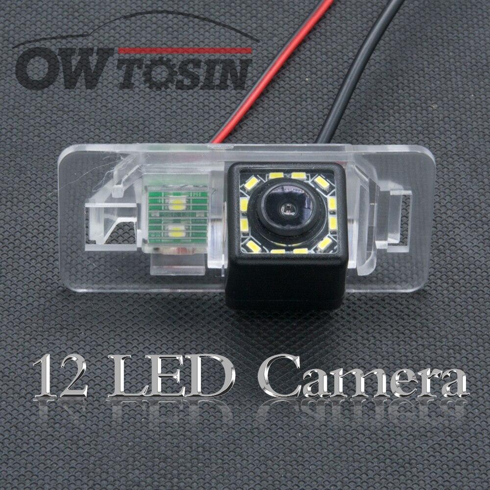 12 LED light Car Rear View Camera For BMW E46 E82 E88 E93 E92 E91 E90 E61 E60 E39 E53 E70 X5 X6 335 325 Car Parking Backup