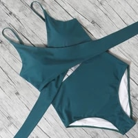 hollow out one piece swimsuit women leopard bathing suit bodysuit sexy halter beachwear female swim suit 2021 bikini swimwear xl