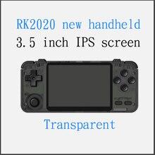Rk2020 vidéo ps1 console de jeu 3.5 pouces IPS portable écran HD jeu rétro console de jeu n64 contrôleur portable