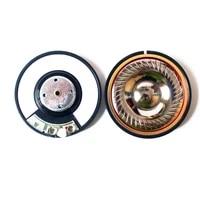 50mm titanium film 32 ohm headphone unit speaker with copper ring 110 db%c2%b13db
