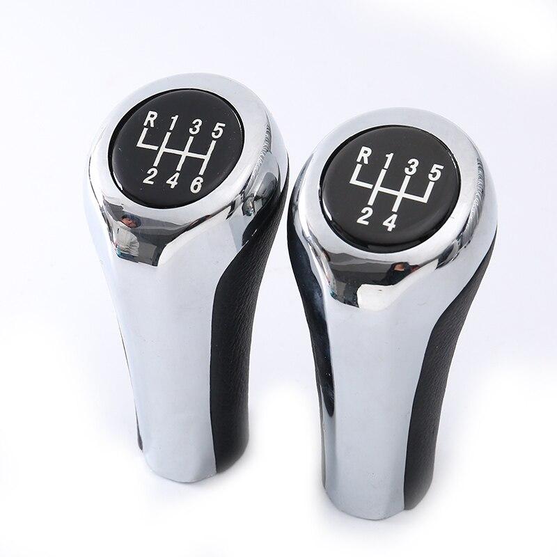 5 alças da caixa de velocidades da velocidade alavanca do deslocamento de engrenagem cabeça vara para bmw série 1 e81, e82, e87 para bmw série 6 e63 para bmw x1 e84