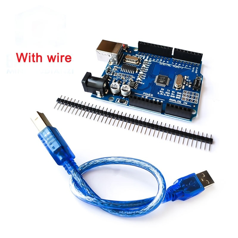 CH340G Development Board For Arduino  Learning Suite Starter Kit ,ATmega328P With USB cable Acrylic Case