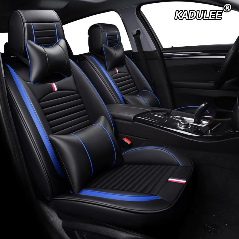 Auto asiento de coche del cuero de la Pu fundas para suzuki vitara VW tiguan jetta mk2 acura mdx rdx bmw x1 e84 x2 cojín para asiento de coche lexus gs300