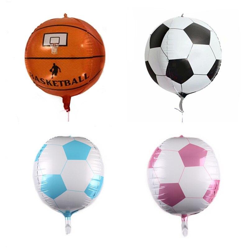 AliExpress - New 22 Inch 4D Basketball Football Balloon Birthday Party Baby Shower Anniversary