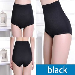 2018 quente cintura alta roupa interior feminina de algodão quadris calcinha sexy mulheres barriga controle briefs corpo shaper emagrecimento calças