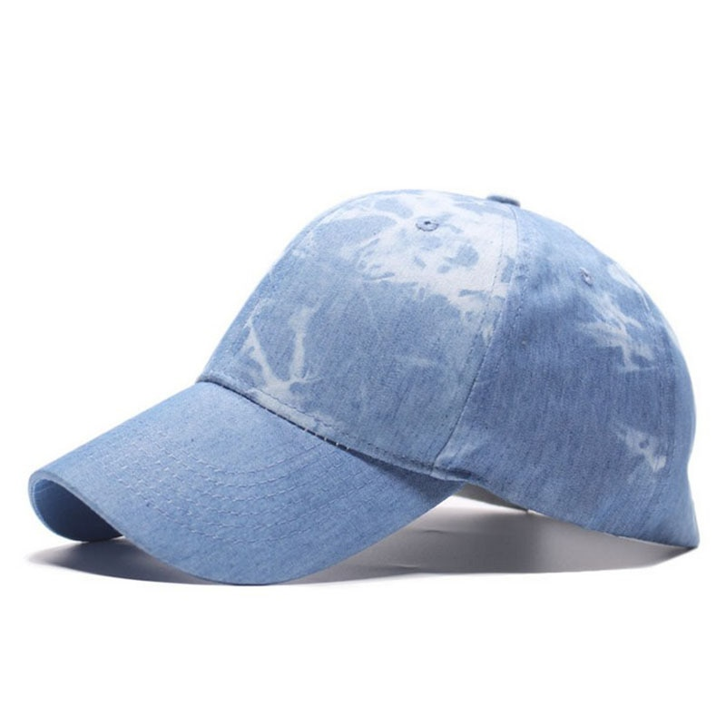Summer New Tie-Dye Baseball Cap Korean Cotton Washed Snapback Hats For Men Women Caps Wild Casual Fashion trucker Hat 2020
