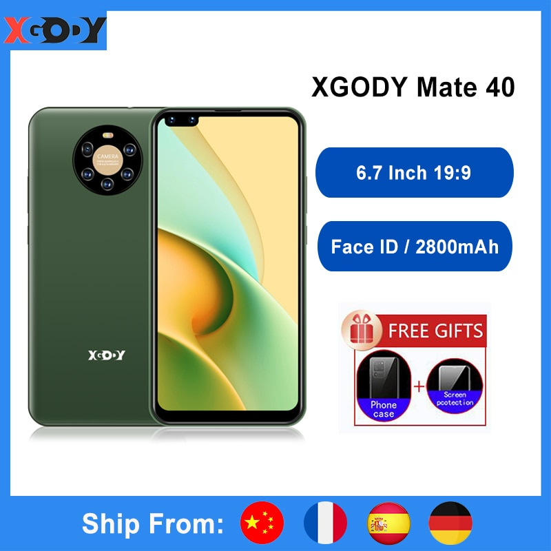 XGODY Mate40 Smartphone Android 8.1 6.7