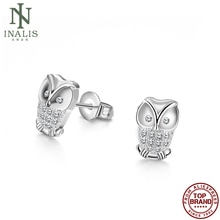 INALIS Vintage Owl Shaped Earrings Silver Color Earrings For Women Fashion Jewelry Best Selling Vale