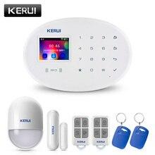 KERUI W20 Wifi GSM alerta de seguridad Classic Suite sistema de seguridad inalámbrico para el hogar Compatible con cámara IP y Control de aplicaciones