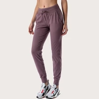 new womens yoga pants sport outfit high waist ankle length casual jogging pants fitness pants for women