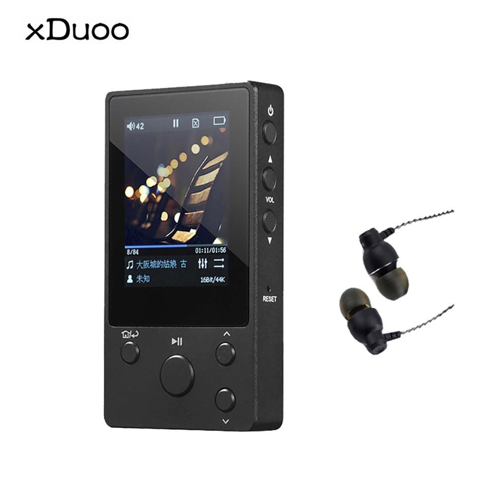 XDUOO NANO D3 Профессиональный музыкальный MP3 DSD256 24 бит/192 K HD, 5 секций эквалайзера, ips-экран, 20 часов работы (купон)