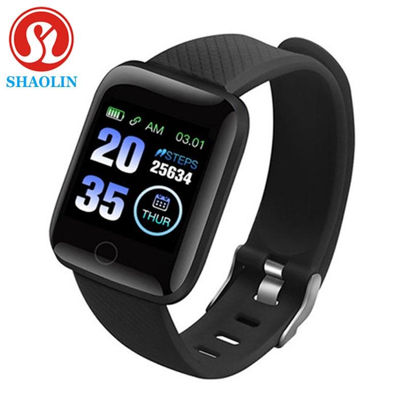 SHAOLIN Smart Bracelet Watch Heart Rate Blood Pressure Monitoring Fitness Tracker Man Woman Couple S