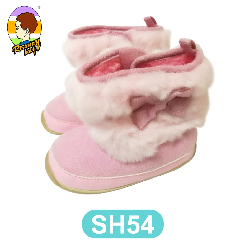 Risunnybaby Baby Shoes Newborn Cotton Shoes Sneaker Winter First Walkers Infant Toddler Soft Sole An