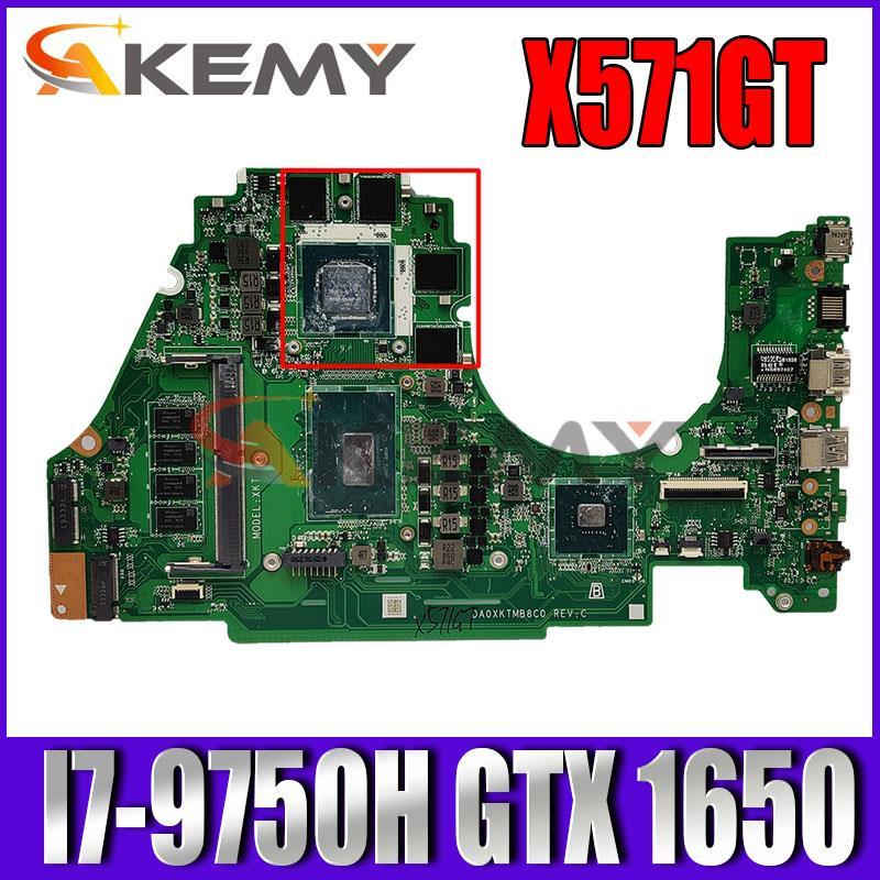 X571GT اللوحة الأم لأسوس VivoBook X571G X571GD K571GD VX60GT Laotop اللوحة الرئيسية X571GT I7-9750H وحدة المعالجة المركزية 8GB RAM GTX 1650/V4G