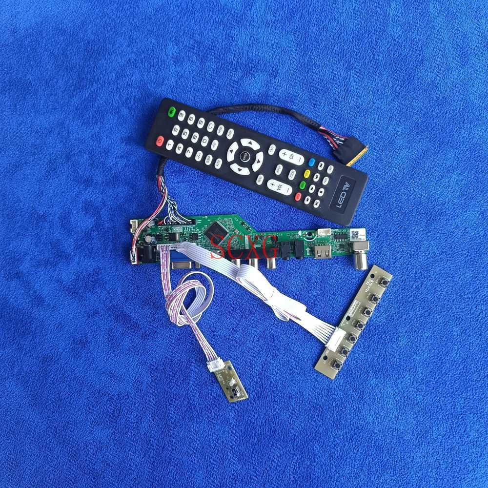 HDMI متوافق USB AV VGA عدة LCD/LED 1680*1050 40 دبوس LVDS صالح LP154WE3-TLA1/TLA2/TLB1/TLB2 شاشة محرك الأقراص إشارة التناظرية