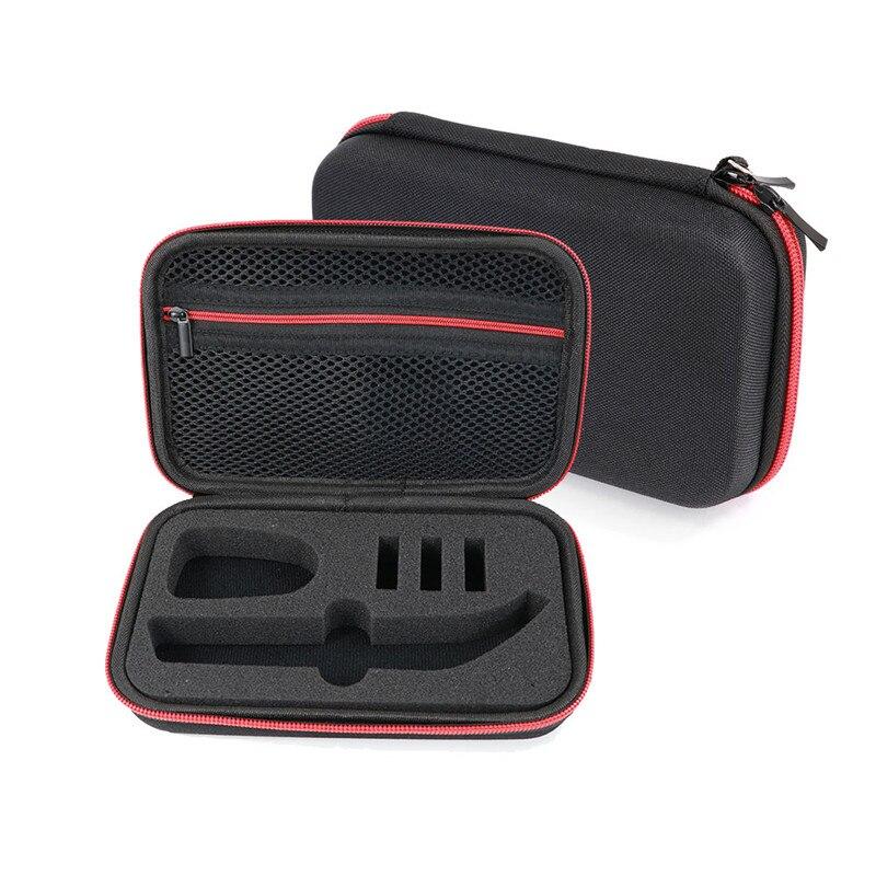 Pour Philips OneBlade Pro tondeuse électrique rasoir QP150 QP6510 QP6520 boîte EVA mallette de voyage Portable sac de rangement pas de rasoir