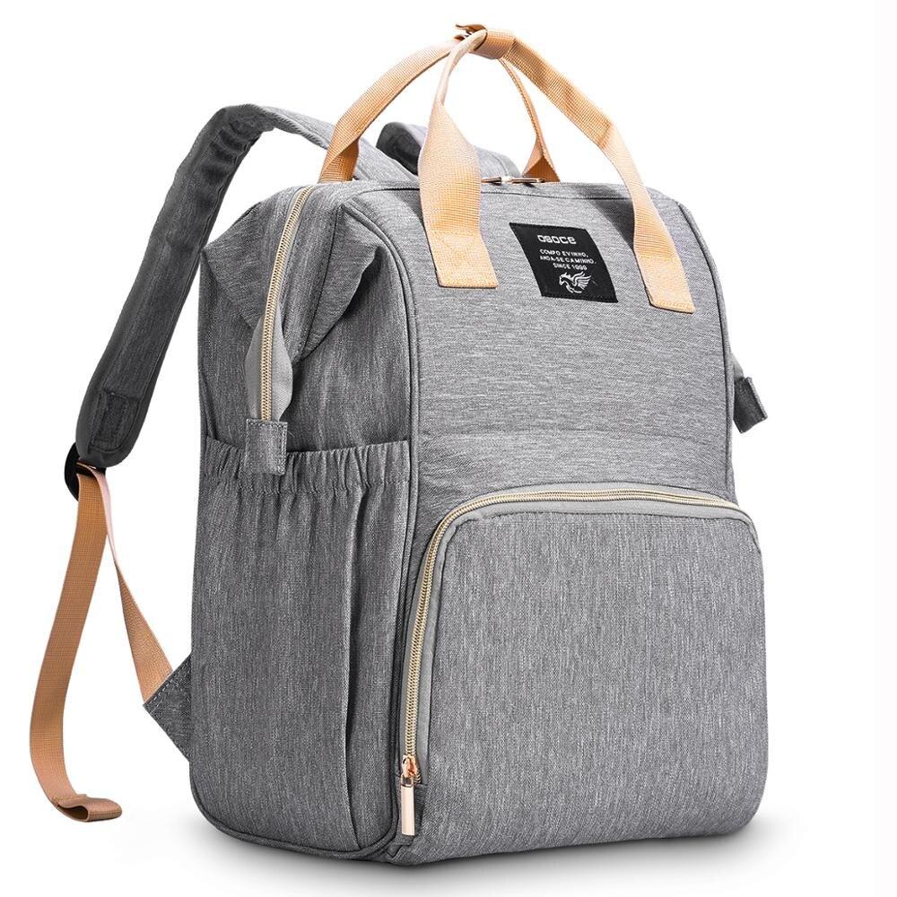 OSOCE Fashion Mummy Maternity Nappy Bag Brand Large Capacity Baby Bag Travel Backpack Designer Nursing Bag for Baby Care