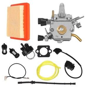 Carburetor Air Filter For Stihl FS120 FS200 FS250 Trimmer Cutter 4134 120 0603