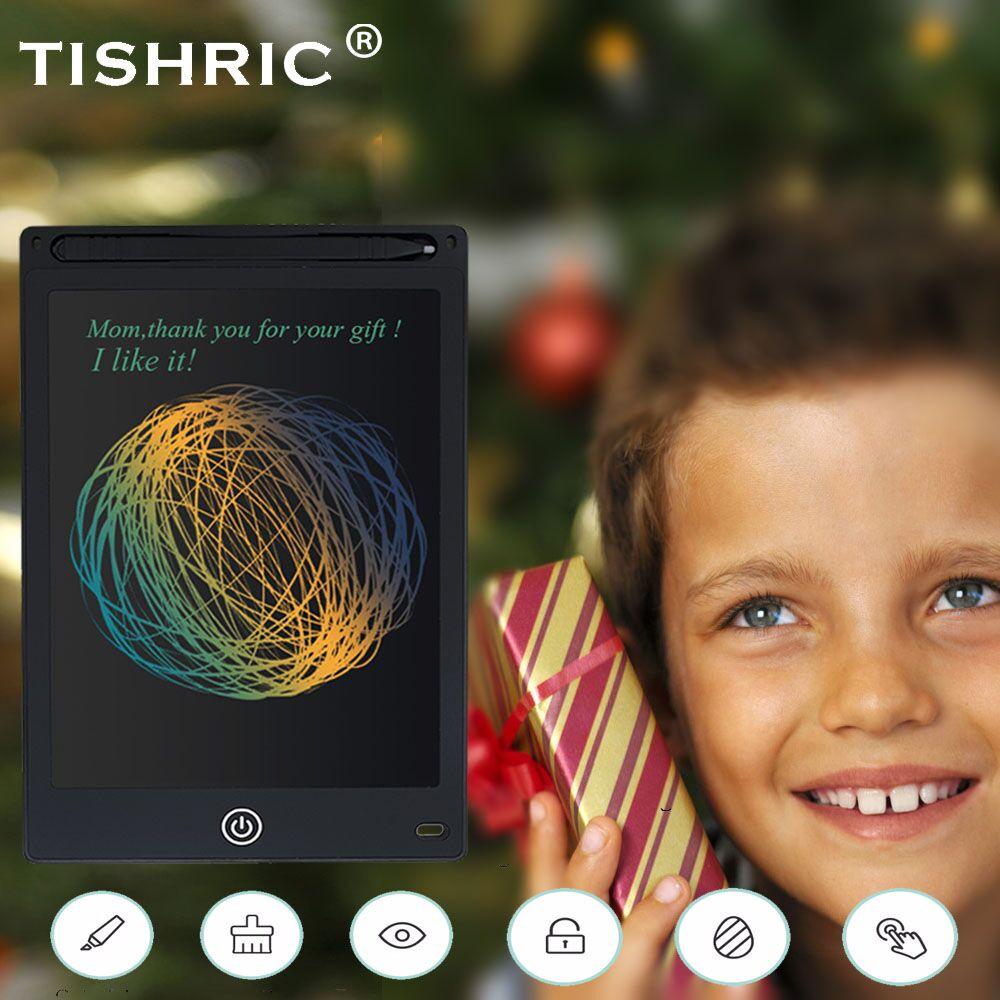 TISHRIC kolorowy ekran Tablet lcd do pisania 8.5/10/12 calowy elektroniczny wymazywalny cyfrowy Tablet graficzny do tabliczka do rysowania/Tablet/deska