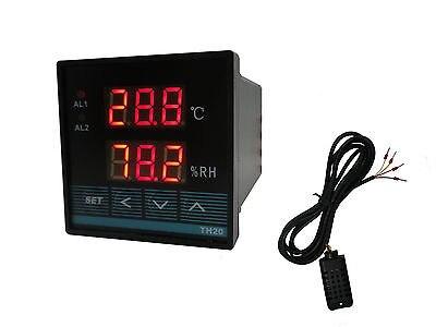 10 Uds. Pantalla Digital controlador de temperatura TH20 humedad inteligente con salida de relé TH20