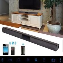20W Draadloze Bluetooth Soundbar Stereo Hi-Fi Speaker Home Theater TV Bar Audio Surround Systeem AUX TF FM Radio Kolom