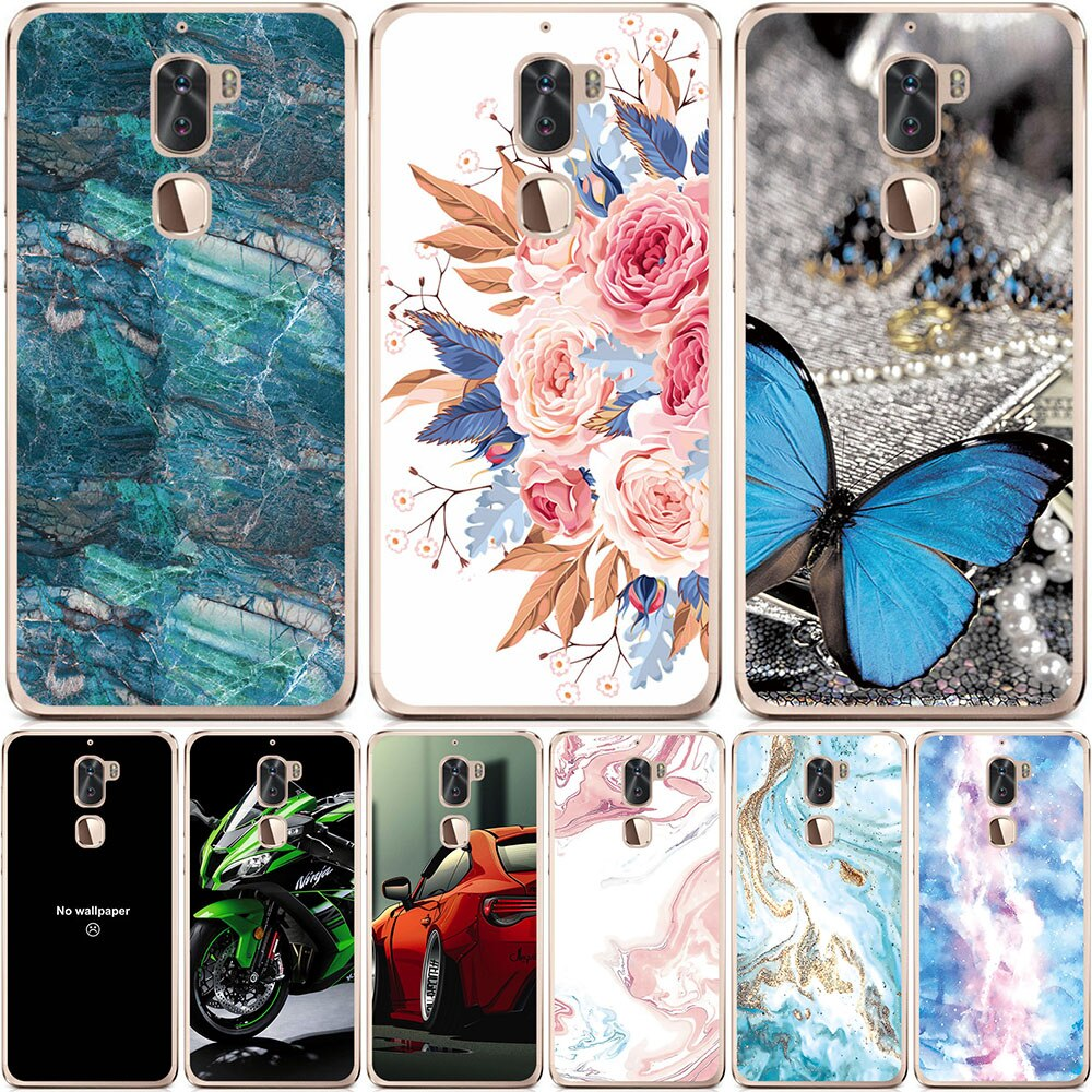 Phone Bags & Cases For Coolpad (LeEco) Cool 1 F1 F2 Case Covers Cartoon Inkjet Painted Shell For For