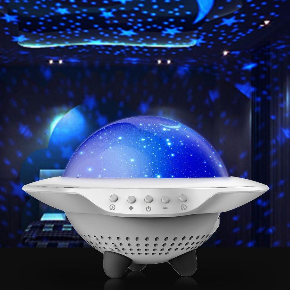 مصباح السماء المرصعة بالنجوم ، جهاز عرض غرفة النوم ، ضوء ليلي LED قابل لإعادة الشحن ، بلوتوث ، جهاز عرض ، هدية عيد ميلاد للأطفال