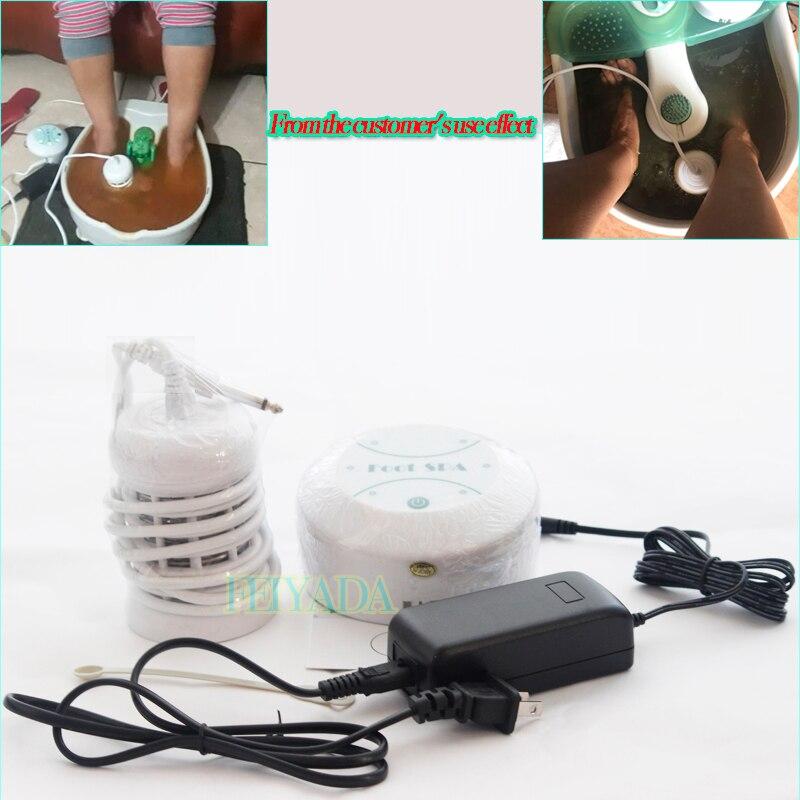 Мини Детокс-машина ионное Очищение ног ионное Детокс-машина для ванны Aqua Cell Spa машина Детокс-ванна для ног