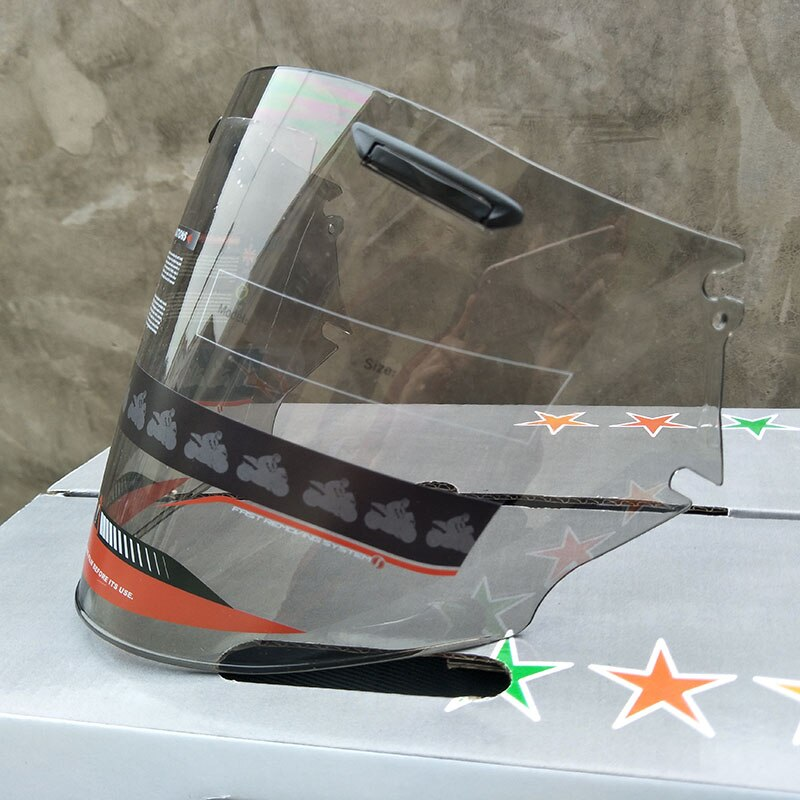 Motorcycle Half Helmet Visor Fitting For Arai Motorbike Helmets Lens Transparent Black Rainbow Color choose