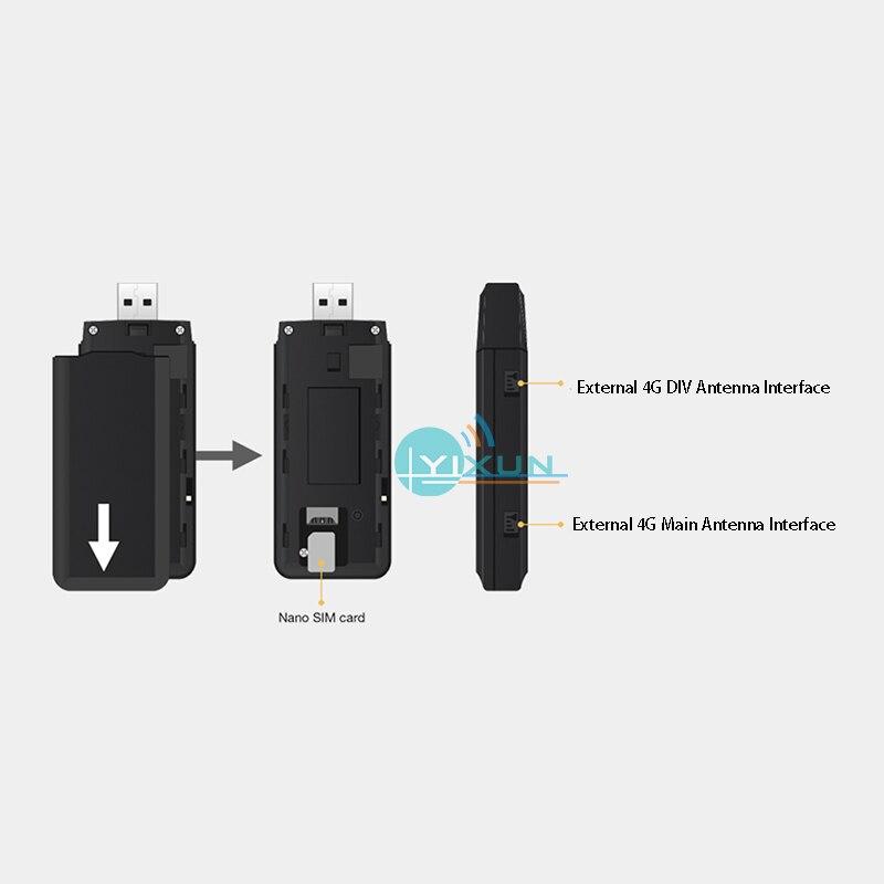 Raspberry Pi 4G communication solution quectel 4G LTE cat4 module USB Dongle for Raspberry Pi 3b 3b+ 4b zero W IPC PC networking enlarge