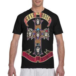 3d print guns n roses tops t shirt gothic female/male black t shirt guns n roses mug ladies/mens t shirt
