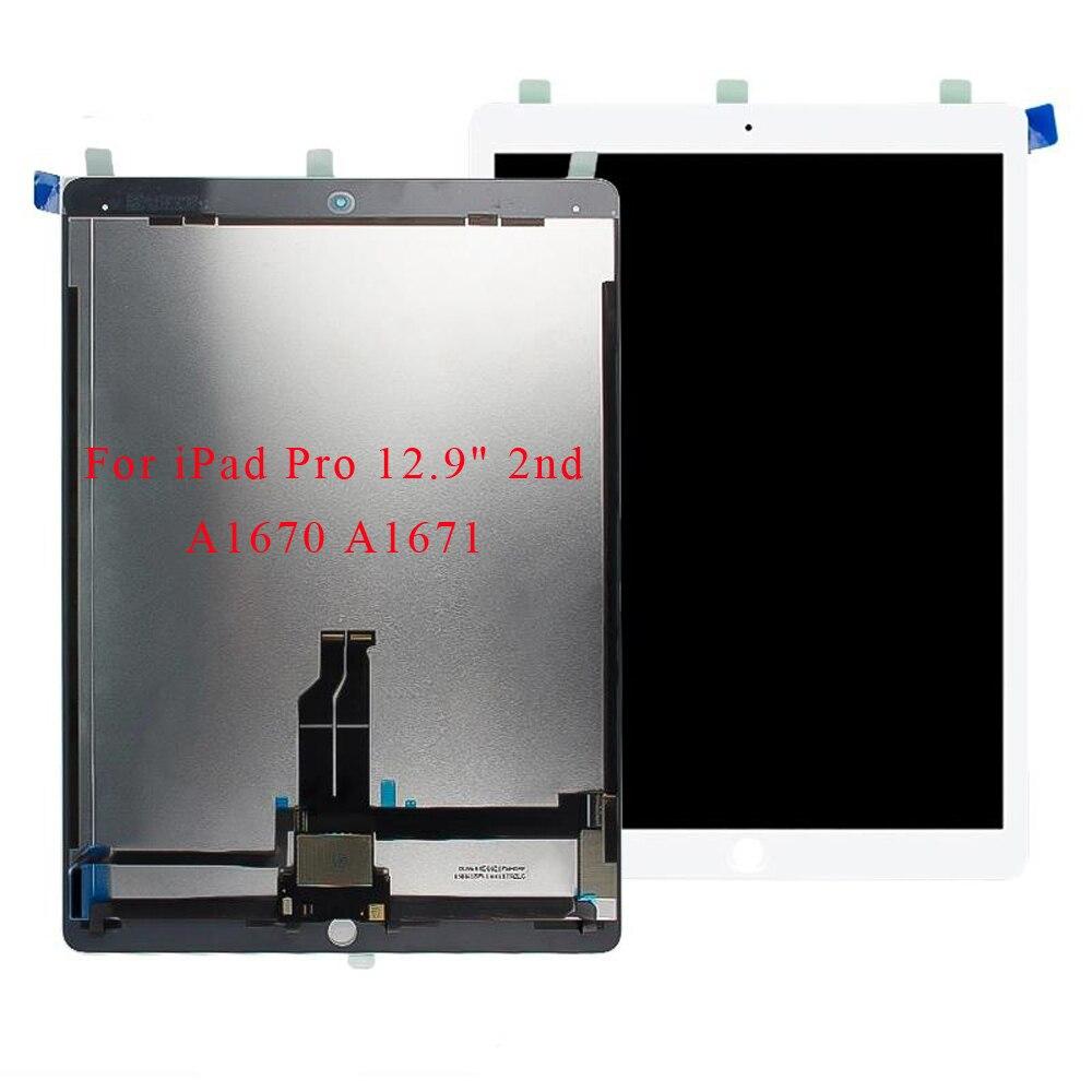 "Para ipad pro 12.9 ""2nd generation a1670 a1671 lcd screen display toque digitador assembléia para ipad pro 12.9"""