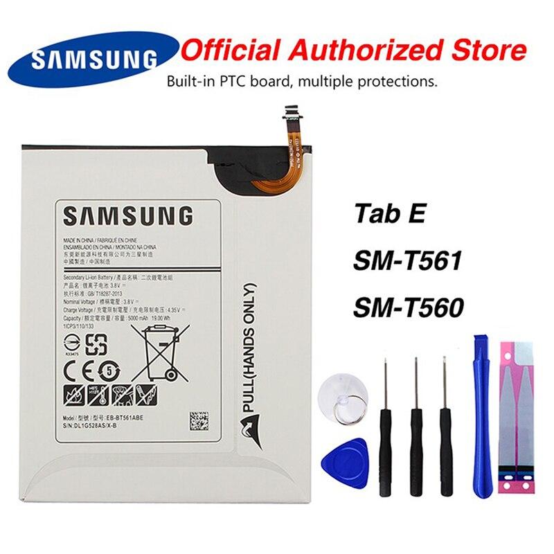 Original Samsung EB-BT561ABE Battery For Samsung GALAXY Tab E T560 T561 SM-T560 5000mAh