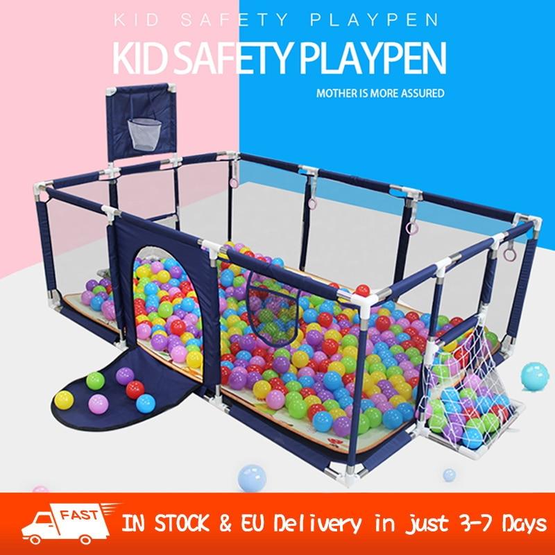 Baby Playpen For  For Children Balls Pool for Baby Fence Playpen Baby Playground Ball Park Safety Barrier Children's Indoor Park